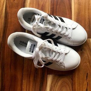 ADIDAS Neo Cloudfoam Stripe Womens Sneakers SHOES